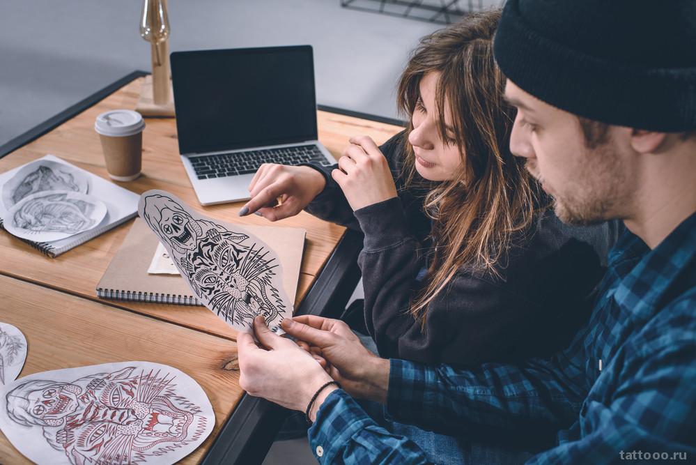 Как выбрать дизайн эскиза для будущей татуировки