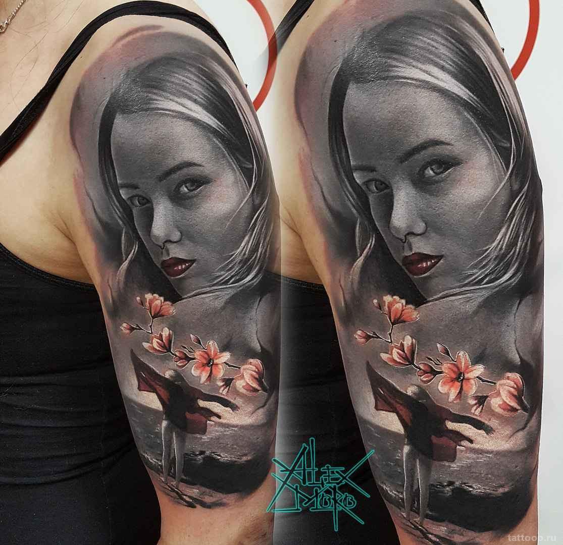 Татуировки  в стиле реализм: особенности
